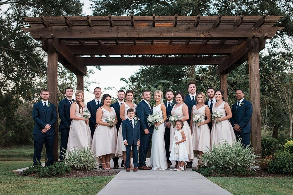Poche Bridge Country Club Outdoor Wedding Venue Lafayette LA Breaux Bridge LA